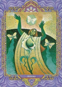 Alchemy (Judgment) from the Triple Goddess Tarot