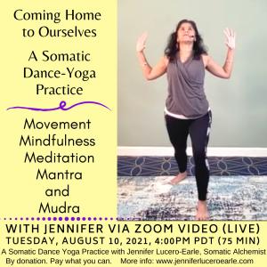August 10 yoga dance