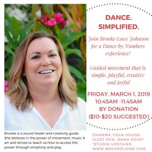 Brooke Dance March 1