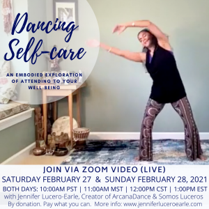 Dancing Self-Care March 6 and 7 (1)