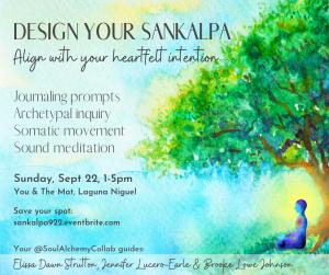 Design your sankalpa_flyer