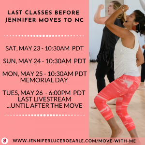 Final Classes May 23-26