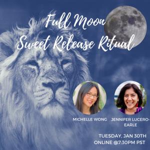 Full Moon Sweet Release Ritual