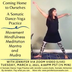 March 2 Yoga Dance