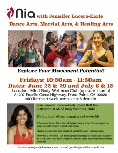 Nia Flyer for Dana Point June-July