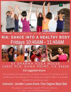 Nia at Dharma Yoga Hous