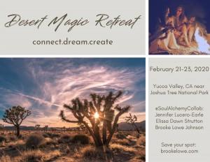 Save the Date_Desert Magic_print postcard