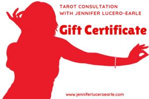 Tarot Gift Certificate