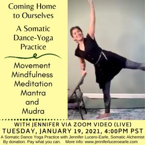 Yoga Dance Jan 19 2021
