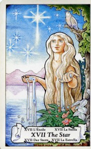 The Star from the Hanson Roberts Tarot