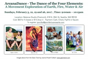 Four Elements Flyer Header