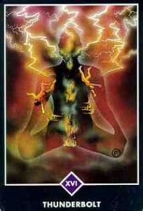 The Tower from the Osho Zen Tarot