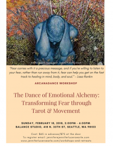 ArcanaDance Workshop, February 18, 2018