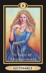 Sustenance (The Empress) from the Tarot of Empowerment
