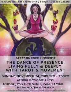 Dance of Presence Flyer
