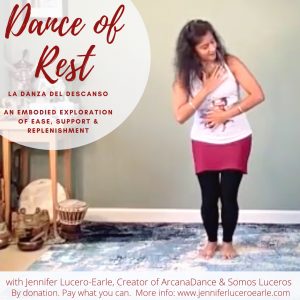 Dance of Rest BLANK