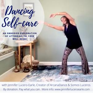 Dancing Self Care Template