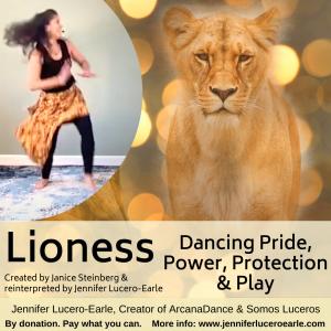 Lioness blank